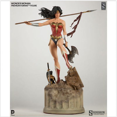 SIDESHOW EXCLUSIVE WONDER WOMAN Premium FORMAT FIGURE STATUE NEW!! Pre-order