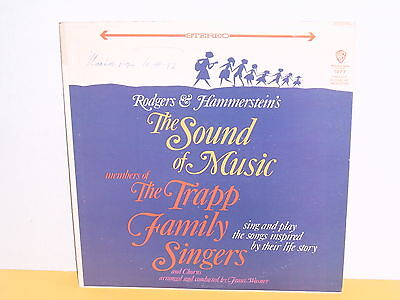 Lp - The Trapp Family Singers - The Sound Of Music - Signiert - Maria Von Trapp