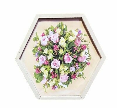 "Quality Keepsake ""Bouquet Of pink Roses"" wood Box"