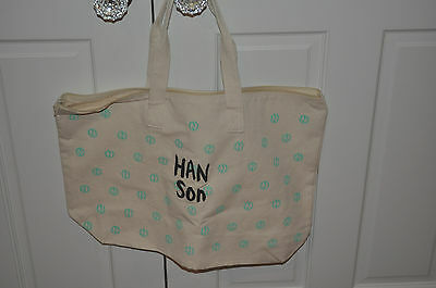 RARE BRAND NEW Hanson LOGO Bag!
