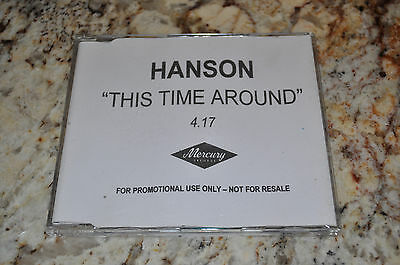 VERY RARE Hanson This Time Around single UK 1 Track PROMO CD!