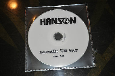 RARE Hanson Underneath Acoustic Tour 03' UK Promo DVD!