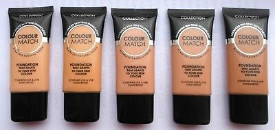 COLLECTION COLOUR MATCH FOUNDATION - 30ml TUBE