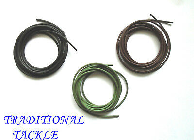 8, 12 & 16 Metres Sinking Anti-Tangle Rig Tube / Tubing - 3 Colours - Carp Rigs