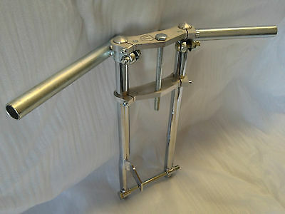 Blata Mini Moto 3.4Hp Front Fork / Upper, Lower Triple Clamps / Handlebars Ass'y