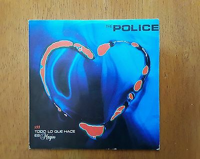 POLICE PS single Every Little Thing She Does Is Magic (A&M AMS 9170  Spain 1981)
