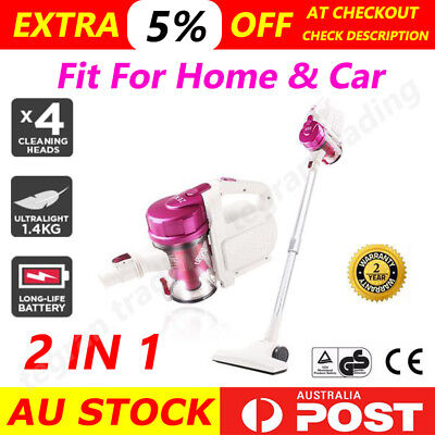 2 in1 Best Rechargeable Cordless Handheld Handstick Stick Vacuum Cleaner Turbo