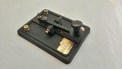 Morse Key by Dulci Company London British Made Electrical Mechanical Products