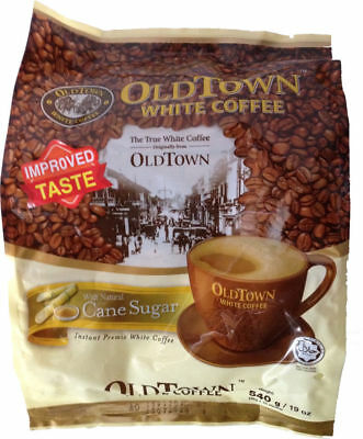 Old Town Malaysia Instant White Coffee Cane Sugar 3in1 Oldtown 36g x 15 Sachets