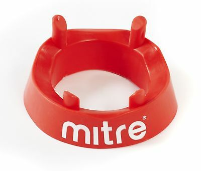 Mitre Rugby Kicking Tee, Bright Red for High Visibility - Red One Size UK Fast *