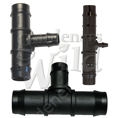 REDUCER TEE ANTELCO irrigation pipe fitting connector hydroponic 25/19/13/4 mm