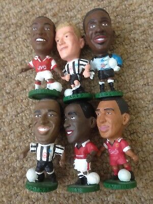 6 Corinthian Collectible Footballers