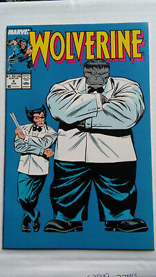 Wolverine #8 (Jun 1989, Marvel)