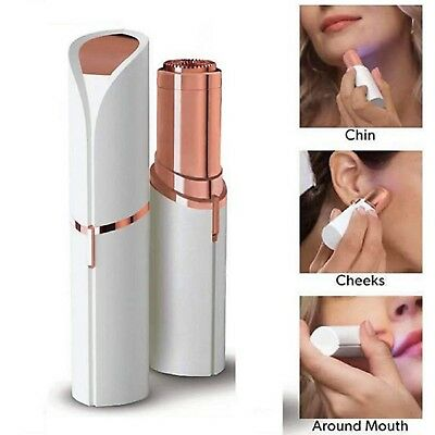 Rose Gold-Plated Epilator for Facial Hair Removal Face Epilator Painless Touch
