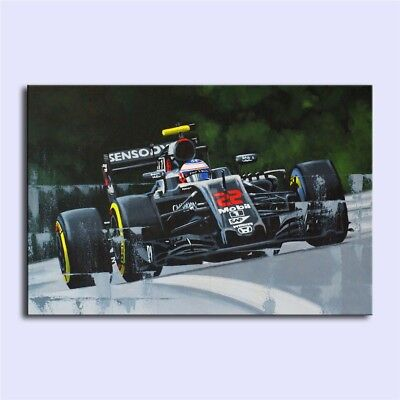 JENSON BUTTON 2016,Oil Painting HD Print On Canvas Modern Deco Wall/Unframed