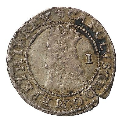 England Charles II 1660-1685 AR Silver Penny Hammered Coin S.3327