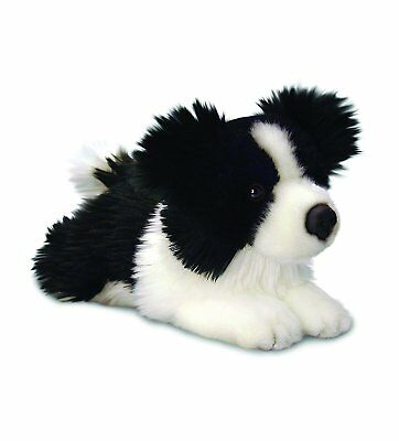 'Jessie' Border Collie Puppy Soft Toy Dog - 25cm - Keel Toys