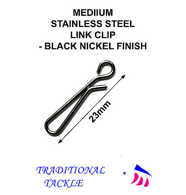 MEDIUM LINK CLIPS 23mm -  SEA FISHING RIG, LEAD WEIGHT
