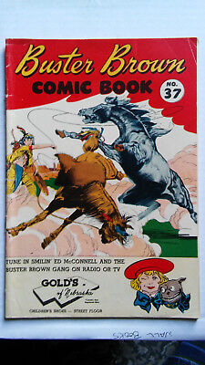 Buster Brown Comic Book #37 (Winter 1954, Brown Shoe Co.)