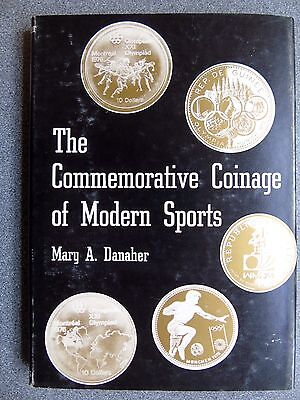 THE COMMEMORATIVE COINAGE OF MODERN SPORTS Mary Danaher.1978 H/B Collecting coin