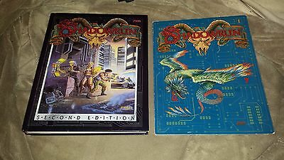 Shadowrun 2nd Edition (7900) - Hardcover Book - 1992