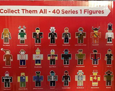 Roblox Mystery Box Minis Series 1 - Choose Your Figure - NEW