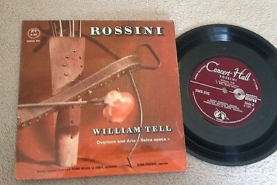 "7""  Rossini William Tell 1966.."