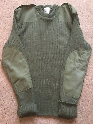 British Army Heavy Wool Jumpers. Pre-Owned.mixed Sizes.