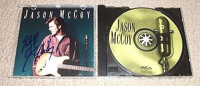 Jason Mccoy - Signed Self Titled Cd (Autographed) Hand Signed! Country