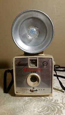 RARE Vintage Mercury Satellite 127 Camera Made By Imperial with Flash and Strap