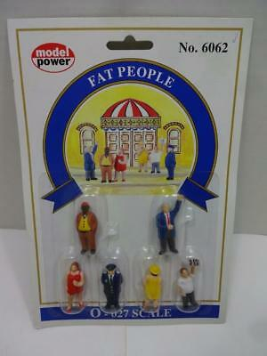 Model Power O Scale Fat People. 6062. New Free Shipping.