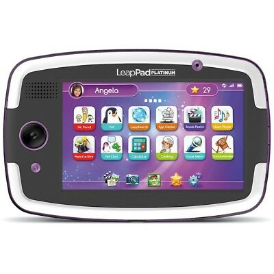 LeapFrog LeapPad Platinum Kids Learning Tablet - Purple - 2RWN