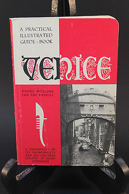 Vintage Venice Tourbook A practical Illustrated Guide-Book 1955