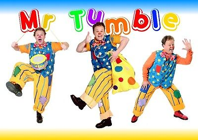 Unofficial MR. TUMBLE (1) *A3* print Poster - Night Garden Teletubbies Special