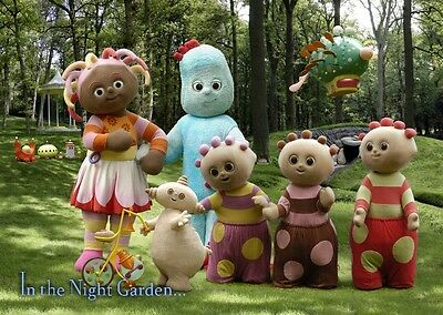 Unofficial In the Night Garden (1) *A3* print Poster - Mr Tumble Teletubbies