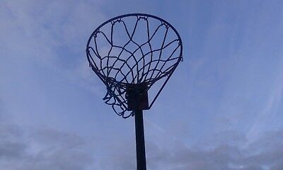 Full size Netball Post. Adjustable height. Free Standing