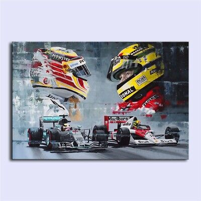 Champions ,Oil Painting HD Print On Canvas Modern Deco Wall 24x36/Unframed