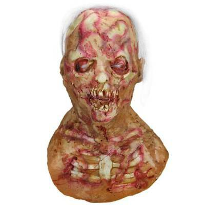 Halloween Adult The Dreaded Zombie Horror Scary Monster Mummy Mask Prop Walking