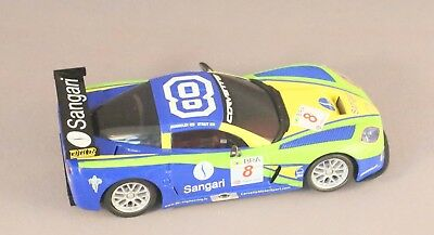Ninco Corvette digital  as shown unboxed  slightly used as test never raced