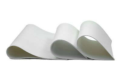 SILICONE RUBBER SHEET - WHITE - FOOD GRADE - 3mm thick