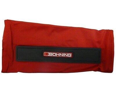Bohning 801009-S-RED Slip On Armguard Small Red