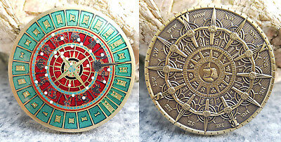 Time and Space Geocoin Ant. Bronze Ulm Edition - SOLD OUT - RAR !!!