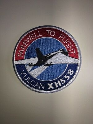 Vulcan XH558 Farewell to Flight Cloth Patch