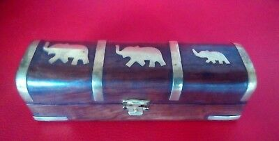 Indian Elephant design trinket box (small)