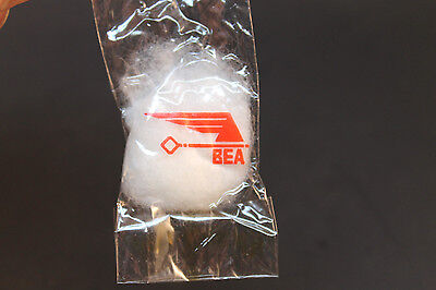 Vintage BEA cottonball in sealed package