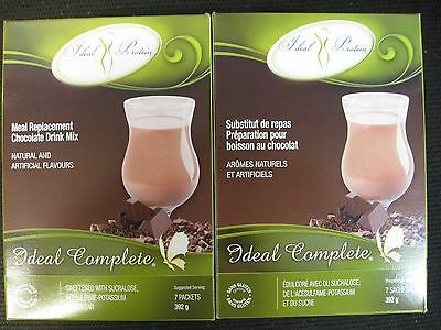 Ideal Protein Replacement Chocolate Drink Mix (2 Boxes Of 7)