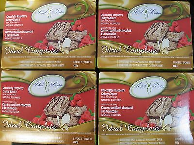 Ideal Protein Chocolatey Raspberry Crispy Squares (4 Boxes Of 6)