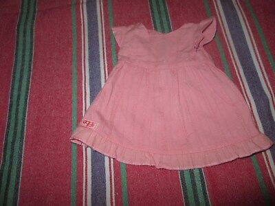 Our Generation Battat Replacement Retired Pink Cotton Dress For Phoebe