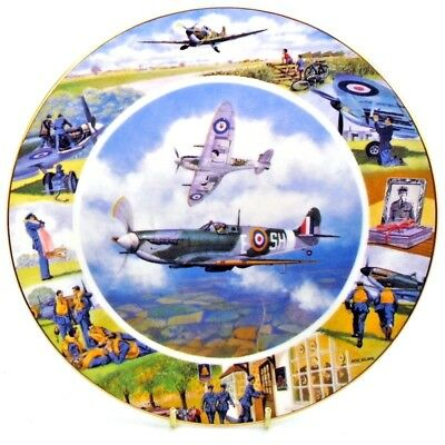 Airplane ~ Local Heroes ~ All in a Day's Work ~ Royal Doulton Plate