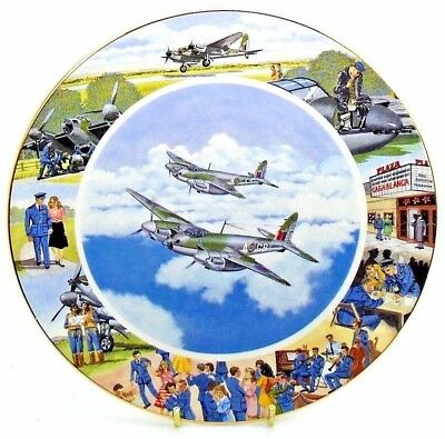 Airplane ~ Local Heroes ~ Taking it all in their Stride ~ Royal Doulton Plate
